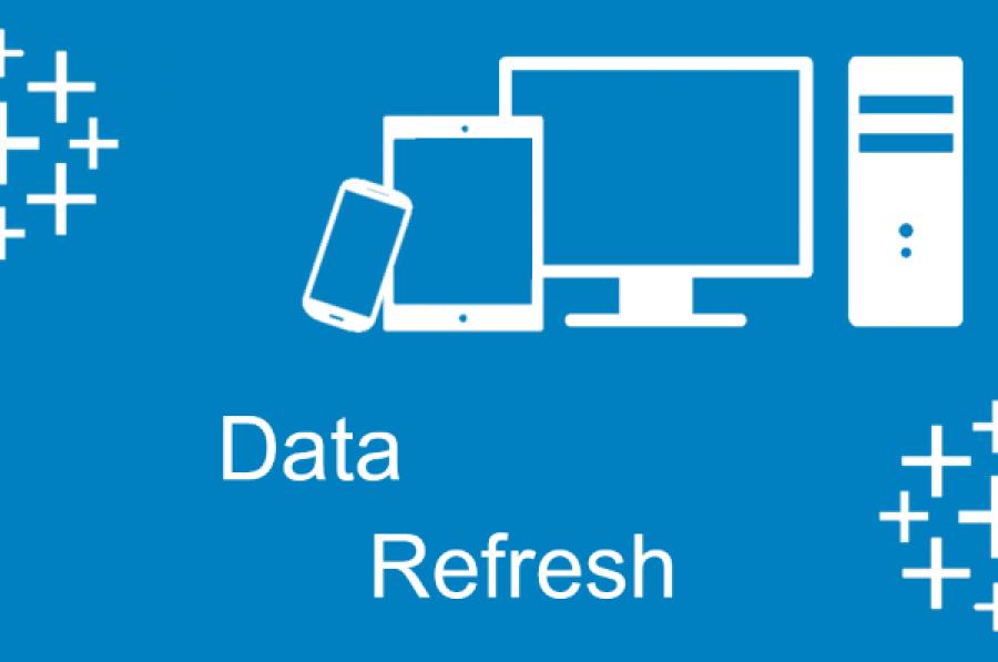 Data Refresh - Tableau 10